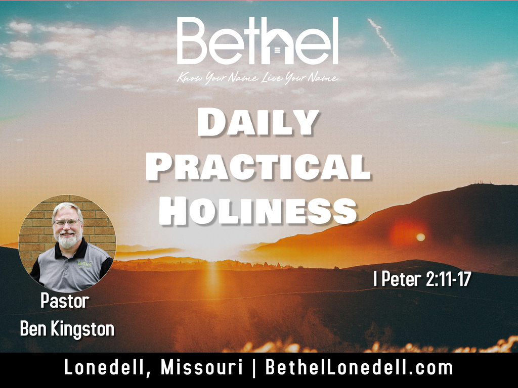 Daily Practical Holiness