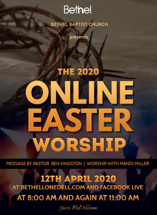 Online Easter Worship