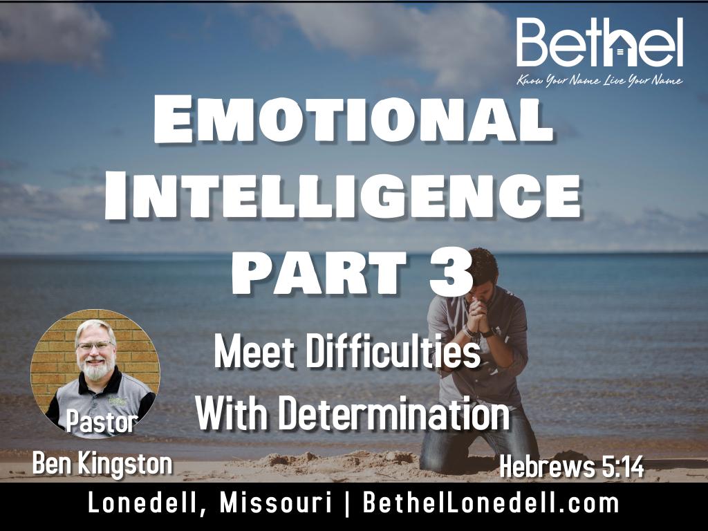 Emotional Intelligence Part 3