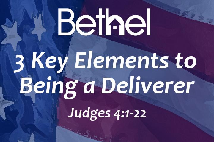 3 Key Elements to Being a Deliverer