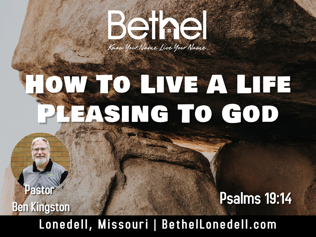 How to live a life pleasing to God