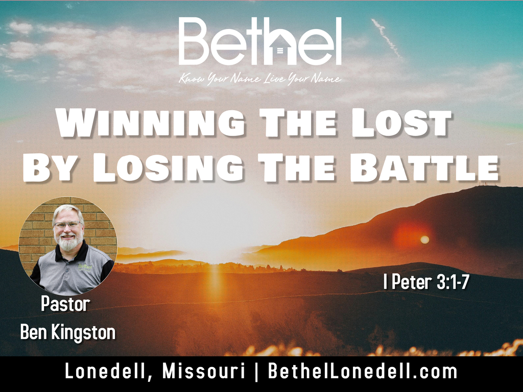 Winning the Lost by Losing The Battle